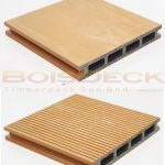 WPC Wood Plastic Composite Decking Outdoor Hollow Series Burmese Teak