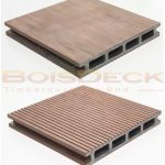 WPC Wood Plastic Composite Decking Outdoor Hollow Series Rosewood