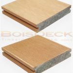WPC Wood Plastic Composite Decking Outdoor Solid Series Burmese Teak