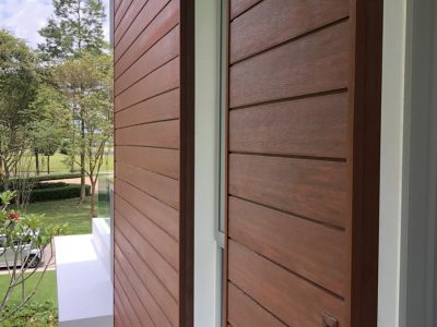 house wall, Eco Setia Garden