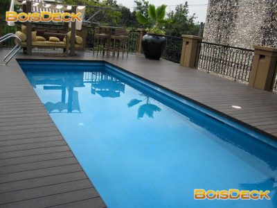 deck around pool, Philllipines